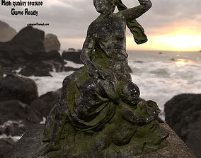 3D old statue 2