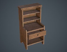 3D asset Medieval Cupboard