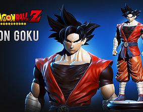 3D print model Son Goku Dragonball Fanart