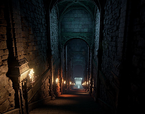 3D asset realtime Fantasy Dungeon UE4