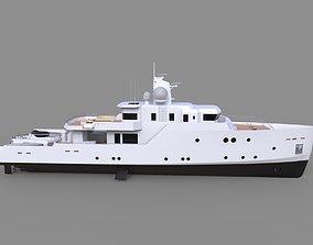 Concept Luxury Yacht 3D