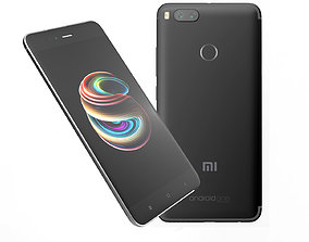 3D model Xiaomi Mi A1 Black