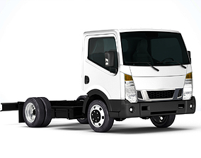 3D Nissan NT400 Cabstar 2019 Chassi