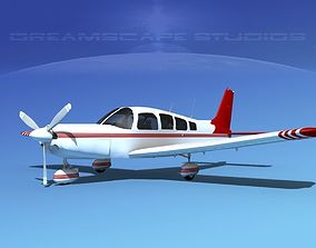 3D model Piper Cherokee Six 300 V06