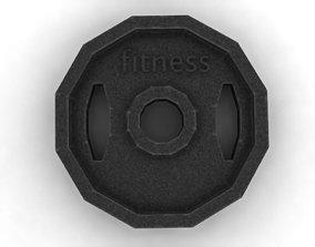 Fitness disc 3D
