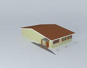 3D model House exterior casa