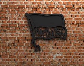 3D model Hertha BSC Logo