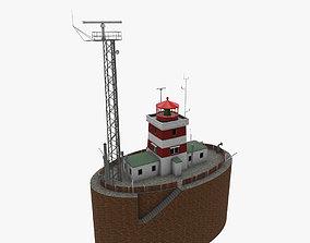 3D model Light House Drogden