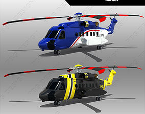 3D model Sikorsky S-92