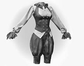 3D Realistic Steampunk Costume