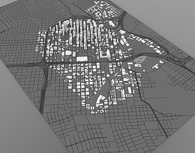 Houston Cityscape in 3ds and obj formats