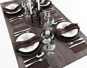 Table serving 1 3D model
