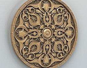 ornament Round rosette 010 3D printable model