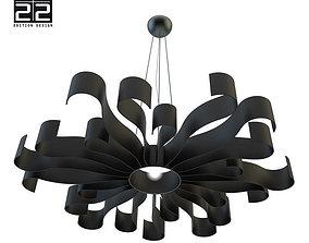 Luminaire - Lustre 22 22 Soleil 3D
