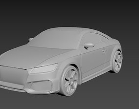 3D printable model Audi TT 2020 on a small scale