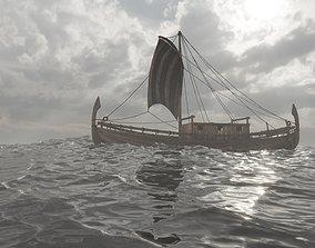 Phoenician Ship 3D model