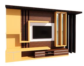 Backdrop TV 3D print model