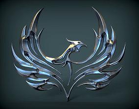3D print model phoenix art