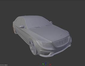 3D Mercedes Benz S65 V12