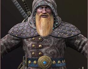 3D model Dwarf Wizard