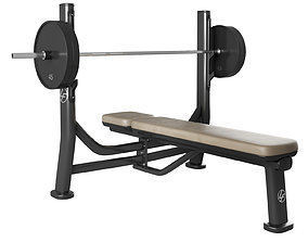 3D model Signature Series Olympic Flat Bench