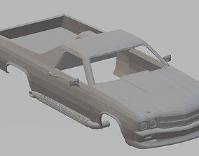 El Camino 1970 Printable Body Car