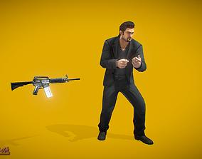 3D model Battle Royale Hitman