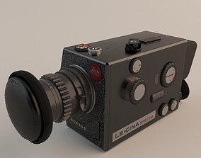 3D model Leitz Leicina Super-8 Camera