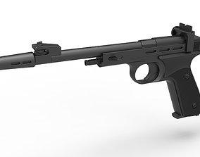 3D model Blaster pistol CDEF from Star Wars