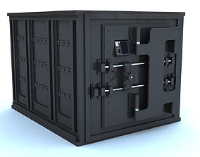 3D asset Safety Deposit box