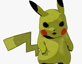 Pikachu 3D animated