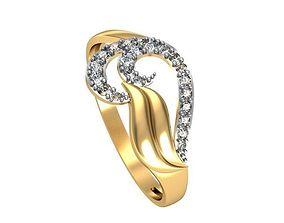 3D printable model Ring Tide set