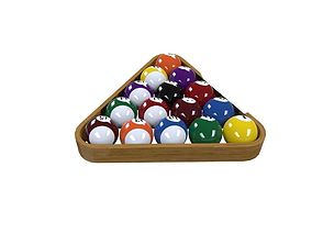 Billiard balls 3D bilard
