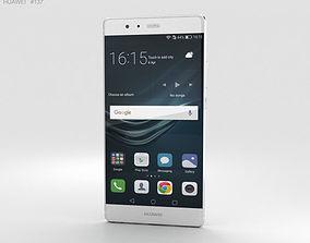 Huawei P9 Plus Ceramic White 3D