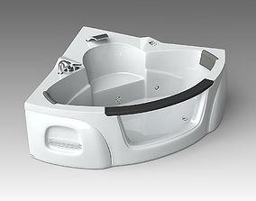 Bath 25 3D model modo