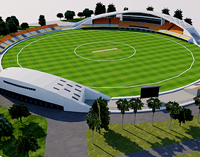 Guanggong International Cricket Stadium - China 3D