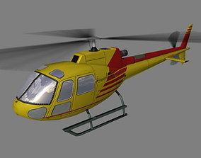 3D model As-350 V4 Helicopter