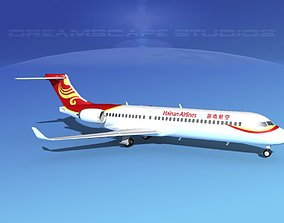Comac ARJ21-700 Hainan Airlines 3D