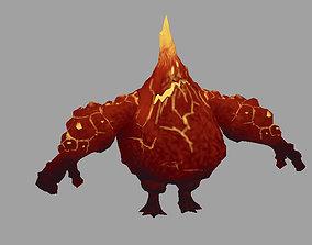 3D model Monster fire