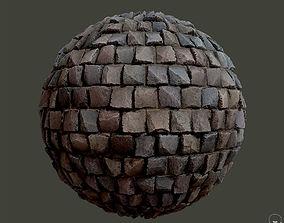 Cobblestone Material 3D model PBR