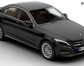 3D model Mercedes C Class 2015 2 Versions