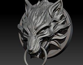 Fenrir Fan Art STL for 3DPrint game