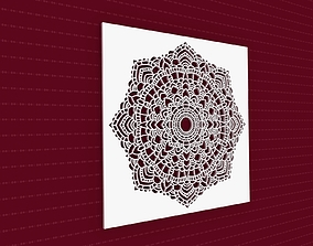 3D model Mandala architectural