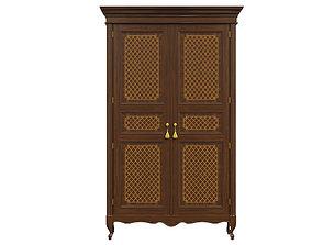 3D model classic cabinet 03 05