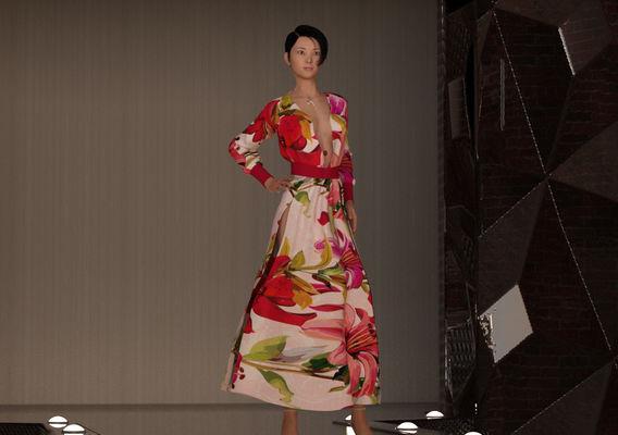 Hitomi - Japanese Fashion Model