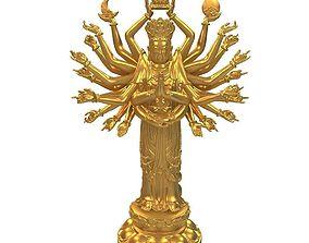 hermes 3D print model Goddess of Mercy