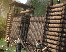 3D Fantasy Fort