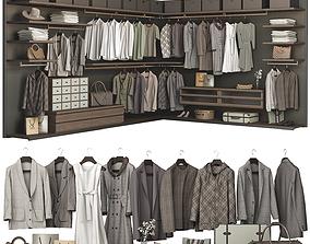 shelves Walk-in Closet Poliform Ubik 1 3D