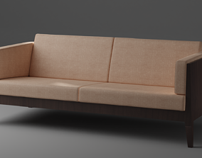 3D model game-ready Modern Sofa
