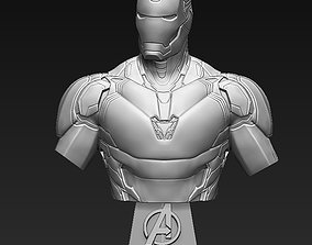 Iron Man MK85 Bust 3D printable model